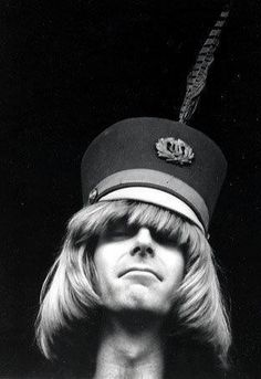 Late 60's Phil with a drum majorette hat <3  (I want his hat!)
