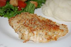 Dinner with The Donnells: Baked Parmesan Garlic Chicken