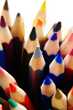 Pencils, in like 50 billion colors