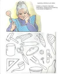 pracovní list Grandparents Day, Easy Drawings, Kindergarten, Old Things, Kids Rugs, This Or That Questions, Disney Characters, School, Children