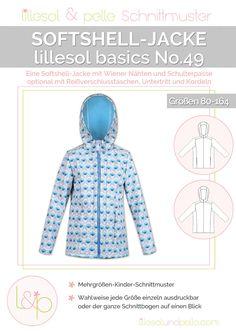 Ebook / Schnittmuster lillesol basics No.49 Softshelljacke