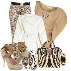 """My Wild Side!"" by mssgibbs ❤ liked on Polyvore"