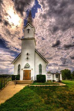 Apple Grove Church by Painted Light Studio, via Flickr