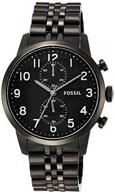Fossil Men's FS4877 Townsman Chronograph Stainless Steel Watch - Black Fossil http://www.amazon.com/dp/B00FWX77GU/ref=cm_sw_r_pi_dp_X-GPub0SCAKZR