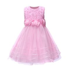 88985fe88 Summer style kids dress for girls flower lace princess party costume girl  floral dress pearl kids clothes