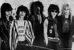 LEXI LUTTER: Hanoi Rocks. My love. Pretty boys, hats, big hair.