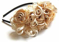 Como fazer um botão de rosa de fita de cetim | Vila do Artesão