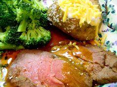 Best Top Round Roast Beef Recipe (or Sirloin Tip) - Joyful Abode