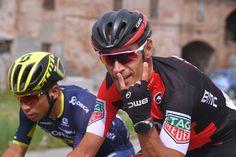 Manuel Quinziato on stage 13 of the Giro d'Italia