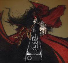 Alucard  Hellsing Ultimate Anime Manga, Anime Art, Near Dark, Hellsing Alucard, Reference Images, Dracula, Me Me Me Anime, Tatoos, Horror