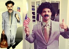 Drake Dresses Up As BORAT For Halloween (Photos)