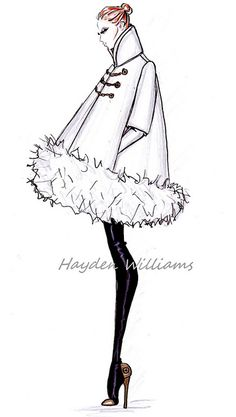 Hayden Williams Fall/Winter 2012.13 RTW collection Preview by Fashion_Luva, via Flickr