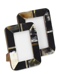 Horn Mosaic Picture Frame | Williams-Sonoma