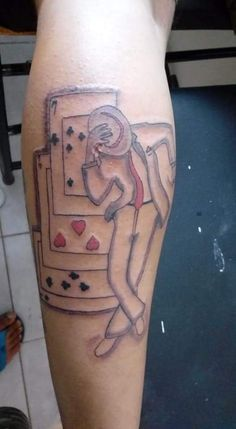 Not even the cards are right : badtattoos