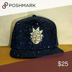 uk availability c4980 a2435 Rick and Morty Rick s Galaxy hat Rick s Galaxy hat Accessories Hats