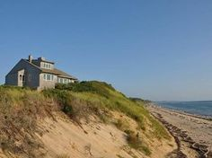 Vacation rental Truro, Cape Cod. Quiet seclusion above your private beach.
