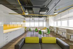 3 industries with unique office layout demands Home Design, Küchen Design, Interior Design, Best Office Design, The Office, Office Decor, Layout Design, Lunch Room, Entertainment Center Decor