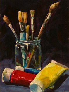 """PRIMARY COLORS"" - Original Fine Art for Sale - © Brian Cameron"