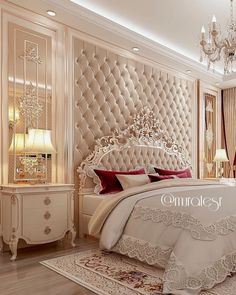10 Amazing Luxury Bedroom Design Ideas - All Bedroom Design Luxury Bedroom Design, Master Bedroom Design, Home Decor Bedroom, Home Interior Design, Bedroom Furniture, Dream Rooms, Luxurious Bedrooms, Beautiful Bedrooms, Indoor