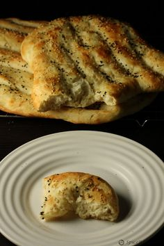 Naan barbari Persian Bread