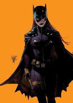 Comic Book Art - Batgirl by Otto Schmidt * Batwoman, Batman And Batgirl, Batman Art, Nightwing, Superman, Batman Robin, Gotham Batman, Héros Dc Comics, Comics Anime