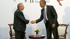 Obama, Castro hold first talk between nations in 50 years
