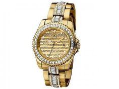 Relógio Feminino Ana Hickmann AH 28197 H - Analógico Resistente à Água Calendário