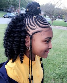 Hairstyles For Black Kids Unique Tribal Crochet Braids For Kids  Crochet Braids  Pinterest