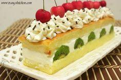 Beautiful and delicious: Japanese Christmas Cake (Kasutera Sponge cake) recipe