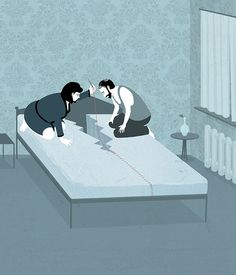 Simply Yet Surreal Illustrations That Play With Your Expectations - DesignTAXI.com