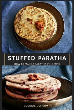 Stuffed Parathas mak
