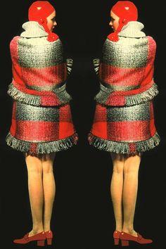Fashion by Pierre Cardin, 1966.