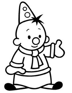coloring page Bumba the Clown