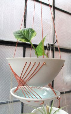 Brookly Babylon Hanging Planter
