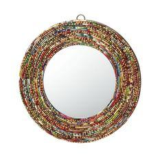 BANGLE MIRROR | Ethnic Decorative Mirror | Great idea!