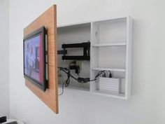 DIY Furniture Plans & Tutorials : Trucos para ocultar cableado