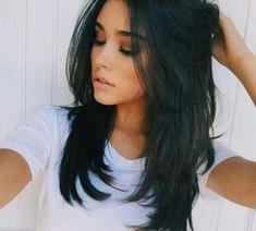 Fotos Abgehackt, Lange Layered Haarschnitte