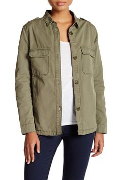 0d769a6fbeae6c ASHLEY MASON - Boyfriend Shacket at Nordstrom Rack. Free Shipping on orders  over  100.