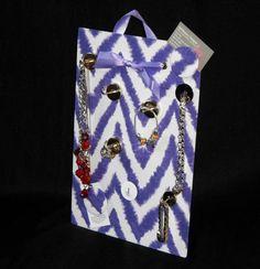JEWELRY ORGANIZER Magnet Board - Organize Jewelry - Freestanding or Wall Hanging