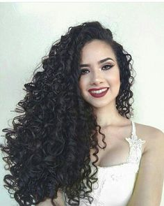Lace Frontal Wigs Long Loose Curls Short Curly Half Up Half Down Best Women Curly Wigs Braids With Curls At The Bottom Curly Hair Styles, Curly Hair Tips, Wavy Hair, Natural Hair Styles, Curls Hair, Long Loose Curls, Crimped Hair, Braids With Curls, Curly Wigs