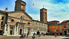 The historic city of Reggio Emilia. Cozy right? [pic by @travelontoast]