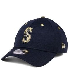 75b58bcca3dd2 New Era Seattle Mariners 2017 All Star Game 39THIRTY Cap - Blue L XL