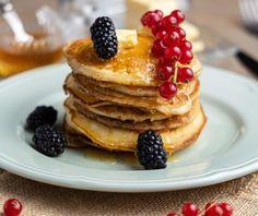 Vegan pancakes | Συνταγή | Argiro.gr - Argiro Barbarigou Vegan Pancakes, Food Categories, Healthy, Breakfast, Recipes, Morning Coffee, Ripped Recipes, Health