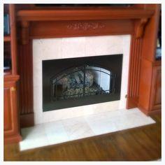 Fireplace Glass Doors, Family Room Fireplace, Custom Fireplace, Hearth, Windows, Image, Design, Home Decor, Log Burner