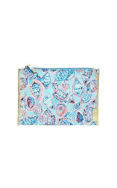 Seaspray Zip Pouch - Lilly Pulitzer Multi Shell Me About It Accessories Small