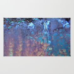 Waterfall Rug by Lena Weiss | Society6