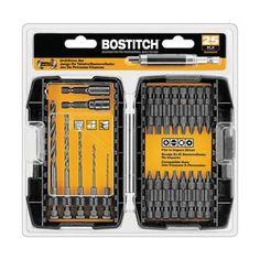 Bostitch (Stanley Bostitch) BSA225DDIM Bostitch 25-piece Impact Bit Set - Walmart.com