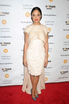 Tessa Thompson in Ashi Studios at the 2014 Gotham Independent Film Awards