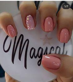 Elegant Nails, Stylish Nails, Trendy Nails, Cute Nails, Shellac Nails, My Nails, Nail Polish, Pink Ombre Nails, Sparkle Nails