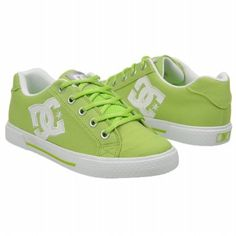 The shoe body here is pretty plain, with the focus being on the eye-catching lime green color. The logo is large and white, which looks refreshing against the green. These shoes are fun and summery.